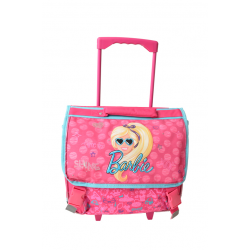 Cartable à roulettes Barbie