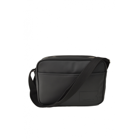 lacoste csacoche noir catgorie sacs de voyage. Black Bedroom Furniture Sets. Home Design Ideas