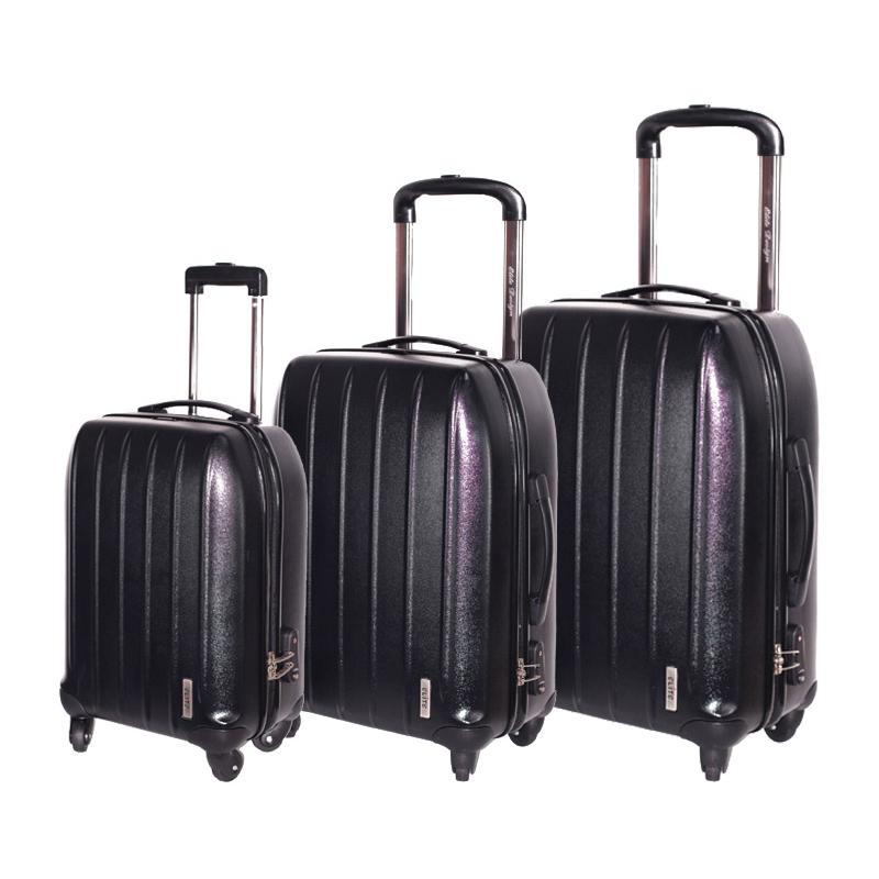lot 3 valises elite francuir