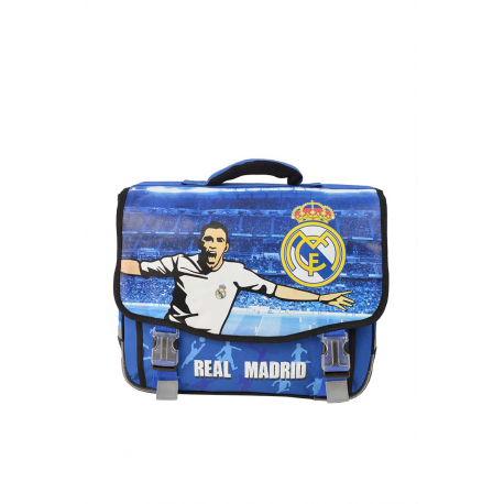 d86a7bb969 Cartable sans roulettes Real Madrid.