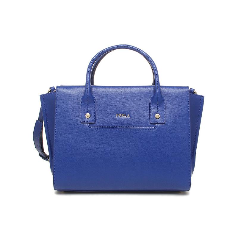 Sac shopping bleu Furla Linda. Sac à main en cuir sur francuir.fr 468806fb3b3