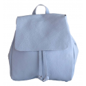 Sac à dos en cuir Domini pour femme taille S, made in Italy