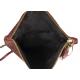 Pochette bandoulière en cuir, Siena Intrecciato