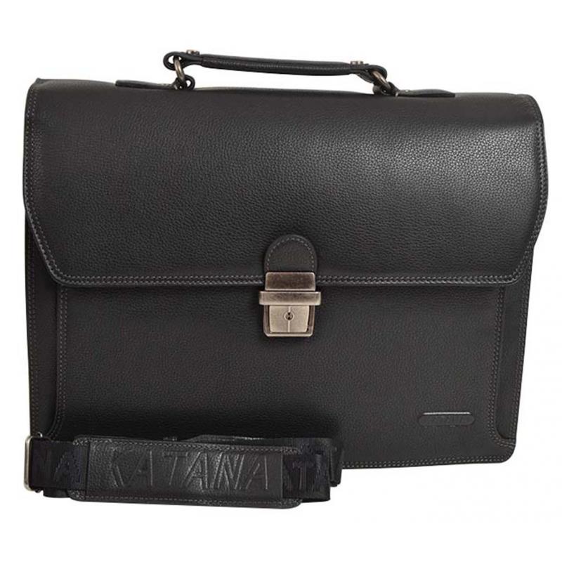 Porte-habits en cuir Katana Affaires Noir QbRDwhRP27