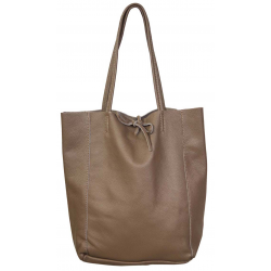 Sac shopping cuir, Made in Italy