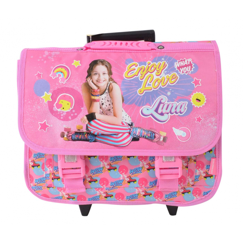 Soy Luna 32285Cartable Trolley Roulettes z0rmz
