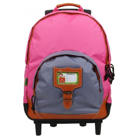 sac dos scolaire roulettes tann s 73124 ebay. Black Bedroom Furniture Sets. Home Design Ideas