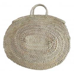 Grand sac rond en paille - BDN-PAI-1