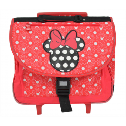 Cartable scolaire à roulettes Minnie Mouse - 701417