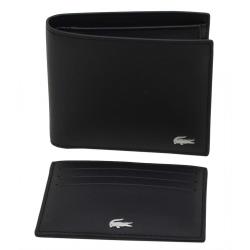 Coffret portefeuille et porte-cartes Lacoste - NH2505FG