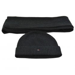 Bonnet et écharpe Tommy Hilfiger - CP00295881