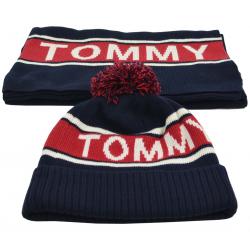 Bonnet et écharpe Tommy Hilfiger - CP00307384