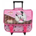Cartable à roulettes Minnie Mouse