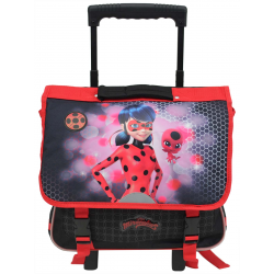 Cartable à roulettes Lady Bug - 460-8648