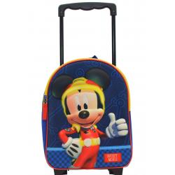 Sac à dos à roulettes Mickey Mouse - 088-9765