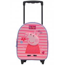 Sac à dos à roulettes Peppa Pig - 007-8654