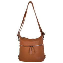 Sac épaule et sac à dos femme en cuir - FIR109