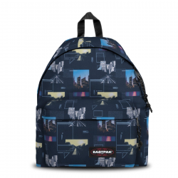 Sac à dos Eastpak Padded Shapes Blue