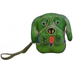 Porte-monnaie chien en cuir - FR-FIR04-dog