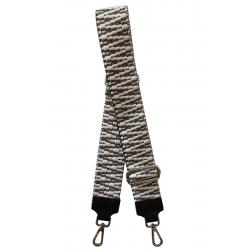 Bandoulière cuir réversible pour sac à main, Made in Italy