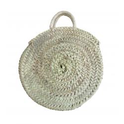 Petit sac rond en paille - BDN-PAI-2
